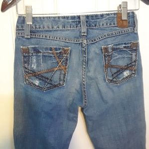BKE 27X31 1/2 STAR WOMENS JEANS